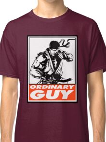 Ryu Ordinary Guy Obey Design Classic T-Shirt