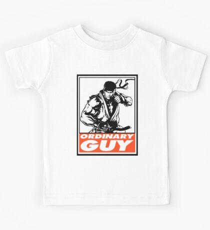 Ryu Ordinary Guy Obey Design Kids Tee