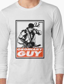 Ryu Ordinary Guy Obey Design Long Sleeve T-Shirt
