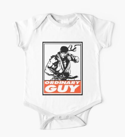 Ryu Ordinary Guy Obey Design One Piece - Short Sleeve