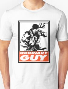 Ryu Ordinary Guy Obey Design Unisex T-Shirt