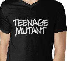 TEENAGE MUTANT Mens V-Neck T-Shirt