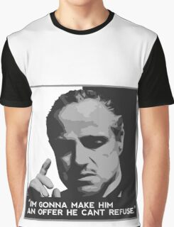 Don Corleone-Offer Graphic T-Shirt