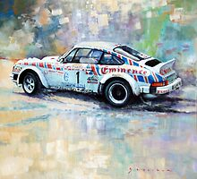 Porsche 911 SC  Rallye Sanremo 1981 by Yuriy Shevchuk