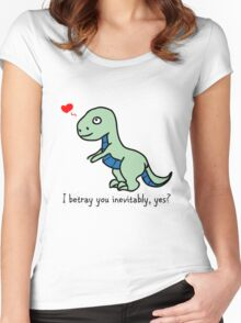 D'awww Inevitable Betrayal Women's Fitted Scoop T-Shirt