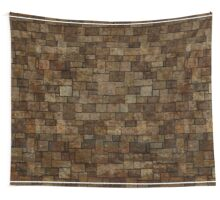 Stained Stone Wall Wall Tapestry