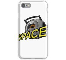 SPAAAACE (Portal 2) iPhone Case/Skin