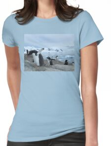 In a Flap Womens Fitted T-Shirt