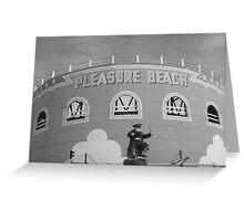 Great Yarmouth Pleasure Beach Greeting Card