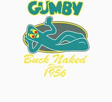 Gumby buck naked Men's Baseball ¾ T-Shirt