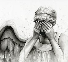 Doctor Who Weeping Angel - Don't Blink! by OlechkaDesign