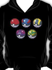 Frist Gen Pokeballs T-Shirt