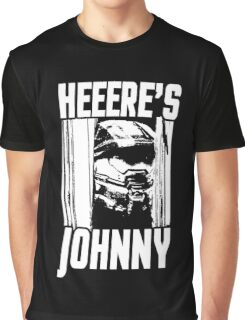 Heeere's Johnny - HALO Spartan 117 Graphic T-Shirt