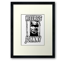Heeere's Johnny - HALO Spartan 117 Framed Print