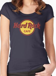 Hard Rock cafe Women's Fitted Scoop T-Shirt