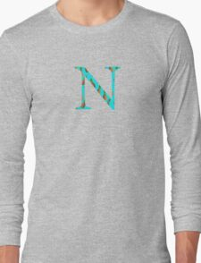 Nu Pineapple Letter Long Sleeve T-Shirt
