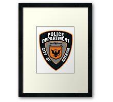 GCPD Framed Print