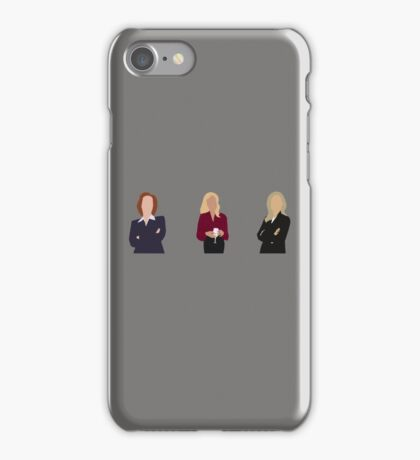 Gillian Anderson - TV Characters // Minimalist iPhone Case/Skin