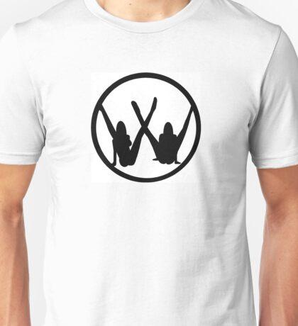 VW leg girls black design Unisex T-Shirt