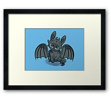 How to Train Your Baby Dragon Framed Print