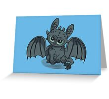 How to Train Your Baby Dragon Greeting Card