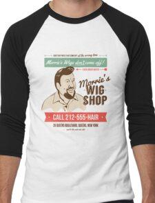 Morrie's Wig Shop Men's Baseball ¾ T-Shirt