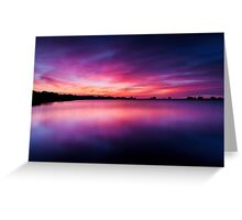 He is like the light of morning at sunrise Greeting Card