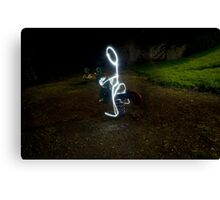 Light photography Canvas Print