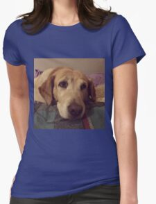 Gracie the Lab Retriever 2 Womens Fitted T-Shirt