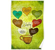 What my #Tea says to me - February 12, 2014 Poster Poster