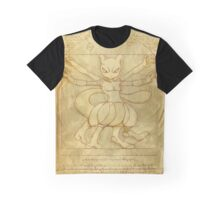 Vitruvian Monster Graphic T-Shirt