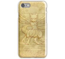 Vitruvian Monster iPhone Case/Skin