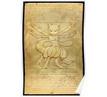 Vitruvian Monster Poster