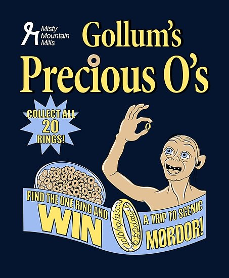 Gollum's Precious O's by Stephanie Whitcomb
