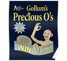 Gollum's Precious O's Poster