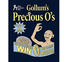 Gollum's Precious O's Photographic Print