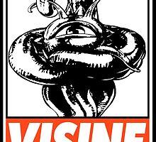Shuma-Gorath Visine Obey Design by SquallAndSeifer