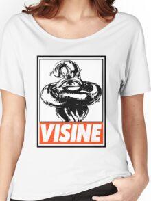 Shuma-Gorath Visine Obey Design Women's Relaxed Fit T-Shirt