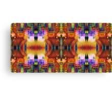 Compressed Frequency Canvas Print