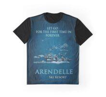 Arendelle Ski Resort Graphic T-Shirt