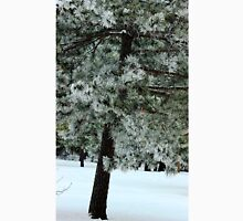 Frosted Pine dedicated to finding winter beauty Unisex T-Shirt