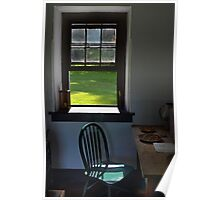 A Chair by a Window Poster