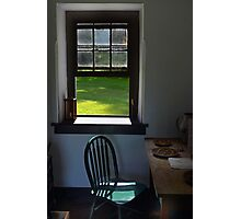 A Chair by a Window Photographic Print