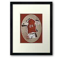 stiles 24 Framed Print