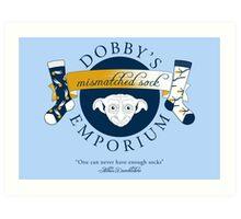Dobby's Mismatched Sock Emporium Art Print