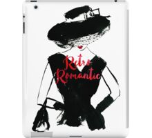 Retro Romantic iPad Case/Skin