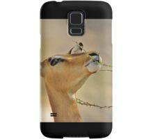 Impala - Pleasure of Food - African Wildlife Background Samsung Galaxy Case/Skin