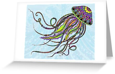 Electric Jellyfish by Tammy Wetzel