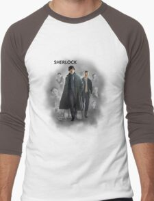 BBC Sherlock Men's Baseball ¾ T-Shirt