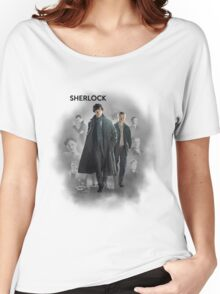 BBC Sherlock Women's Relaxed Fit T-Shirt